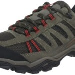 Columbia Men's North Plains Water Proof Trail Shoe,Cordovan/Gypsy,10.5 M US