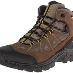 Salomon Men's Authentic LTR CS WP Shoe,Shrew/Burro/Ray,9.5 M US