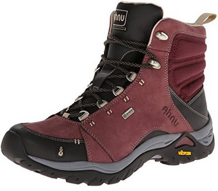 Ahnu Women's Montara Hiking Boot,Red Mahogany,8 M US