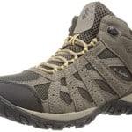Columbia Men's Redmond Mid Waterproof Trail Shoe, Cordovan/Dark, 11 D US