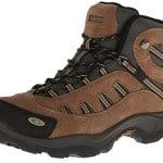 Hi-Tec Men's Bandera Mid WP Hiking Boot,Bone/Brown/Mustard,9.5 M US