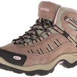 Hi-Tec Women's Bandera Mid WP Hiking Boot,Taupe/Blush,8.5 M US