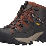 KEEN Men's Targhee II Mid Outdoor Boot, Raven/Tortoise Shell, 12 M US