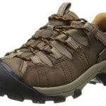 KEEN Men's Targhee II Waterproof Hiking Shoe,Cascade Brown/Brown Sugar,11 M US
