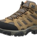 Merrell Men's Moab Mid Waterproof Hiking Boot,Earth,10.5 M US