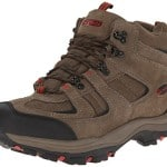 Nevados Men's Boomerang II Mid Hiking Boot, Chocolate Chip/Ginger Red, 10 M US