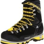 Salewa Men's MS Pro Guide W Mountaineering Boot, Black/Yellow, 9 W US