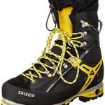 Salewa Men's MS Pro Vertical W Mountaineering Boot, Black/Yellow, 7 W US