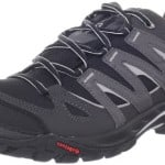 Salomon Men's Eskape GTX Hiking Shoe,Black/Asphalt/Aluminum,12 M US